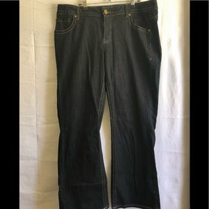 LB Boot cut dark wash jeans